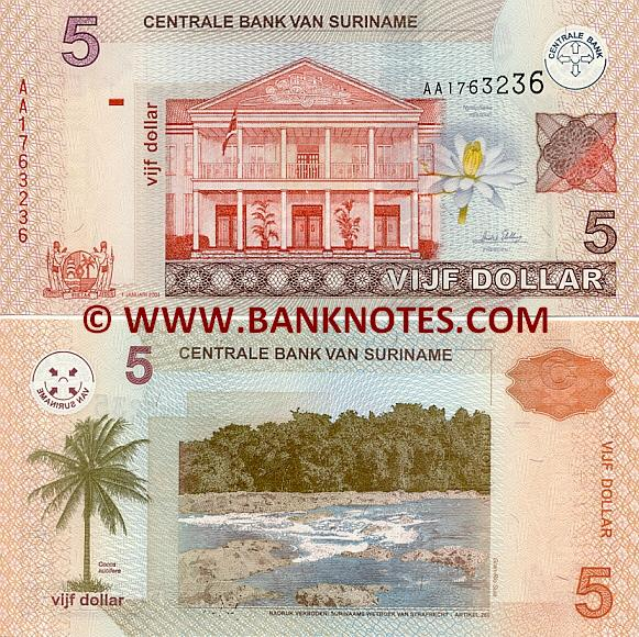 Surinamese Currency Gallery
