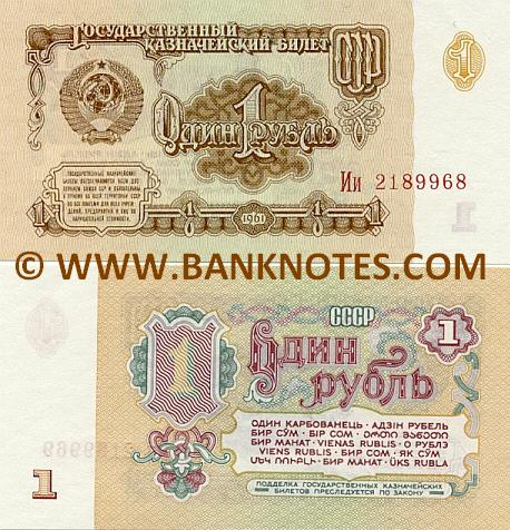 Soviet Currency Gallery