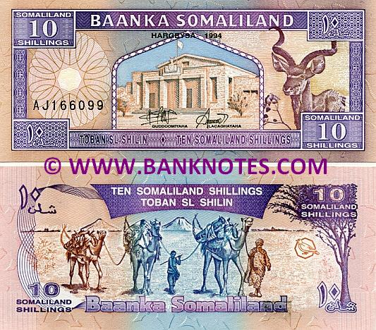 Somaliland Currency Gallery