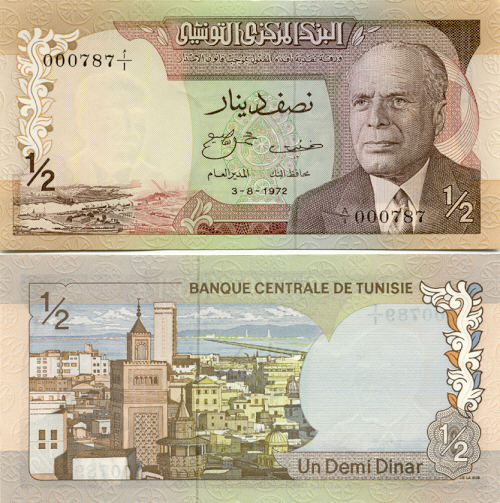 Tunisia Currency Gallery
