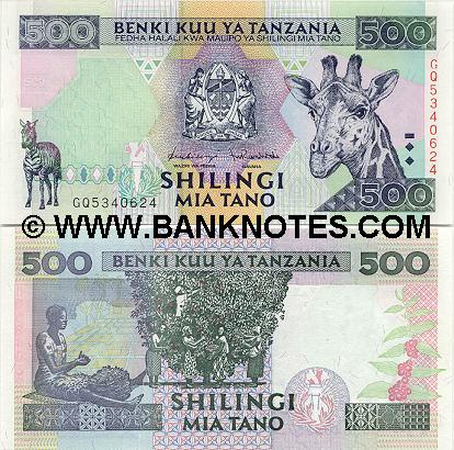 Tanzanian Currency Gallery