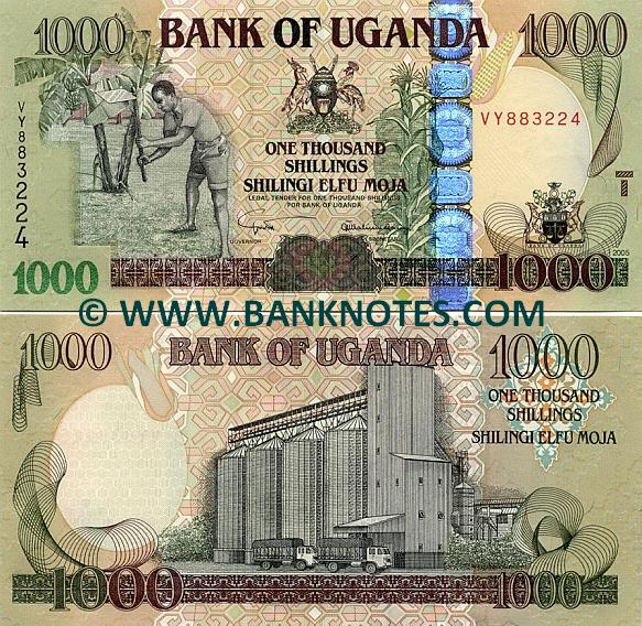 Ugandan Currency Gallery