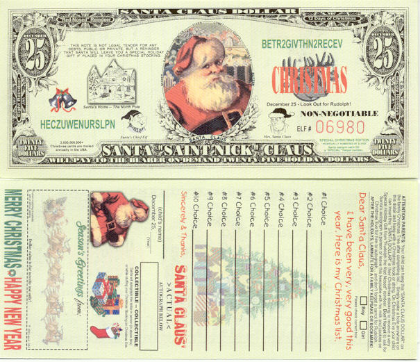 Private Currency  Image Gallery  Fun Banknotes Novelty Money