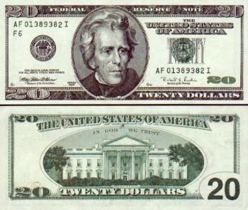 bí mật tờ 20$