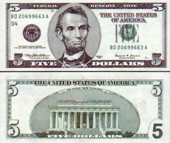 United States Of America Dollar American Currency