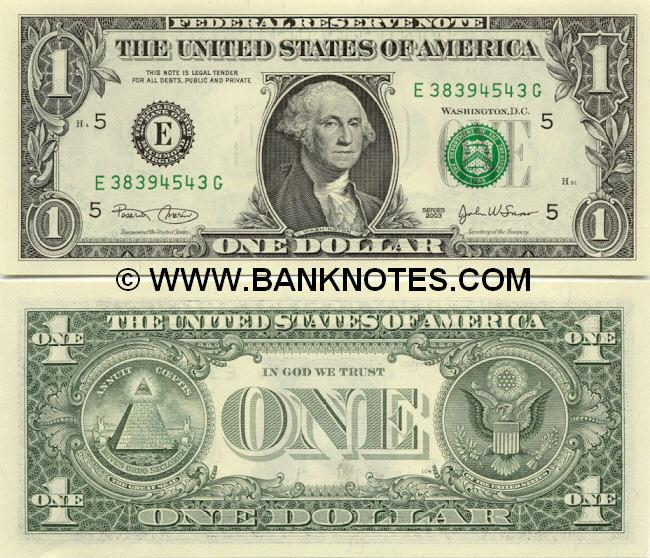 United States Of America Currency Gallery