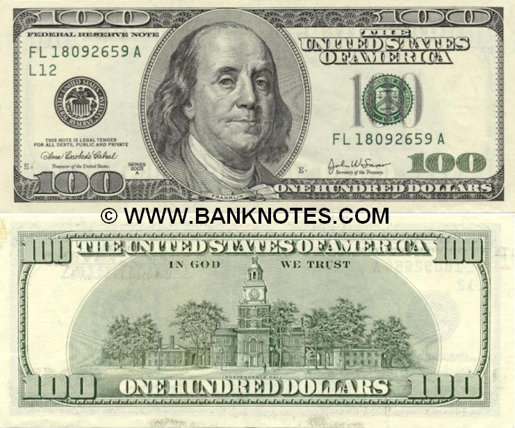 United States Currency Gallery