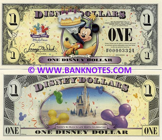 Disney Dollar Gallery