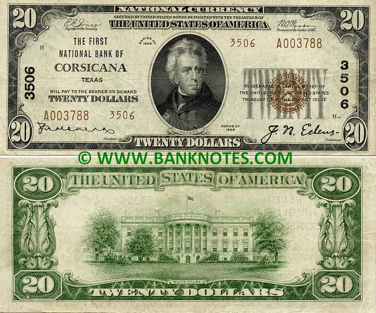 Texas Currency Gallery