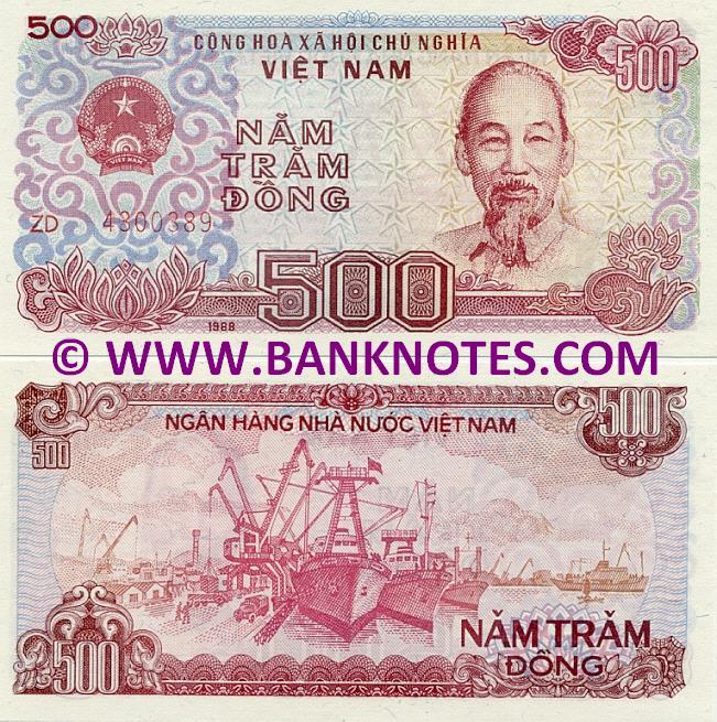 Vietnamese Currency Gallery
