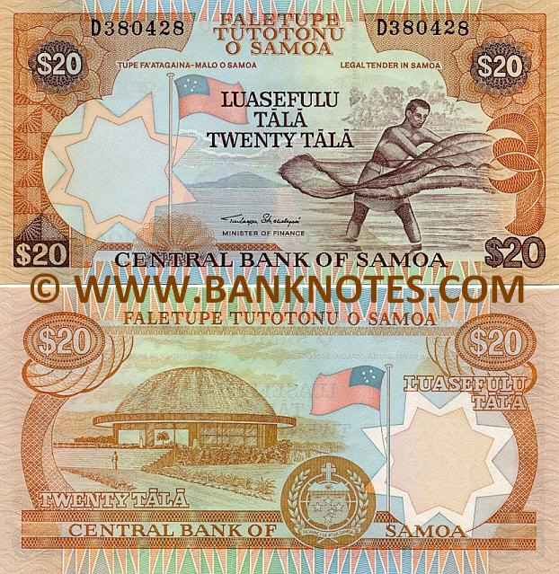 Samoa Currency Gallery