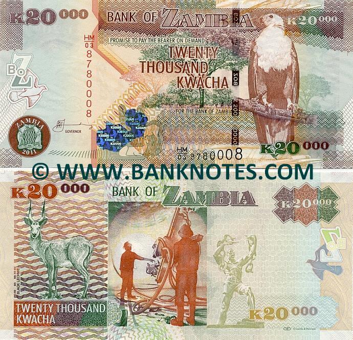 Zambia 20000 Kwacha 20...