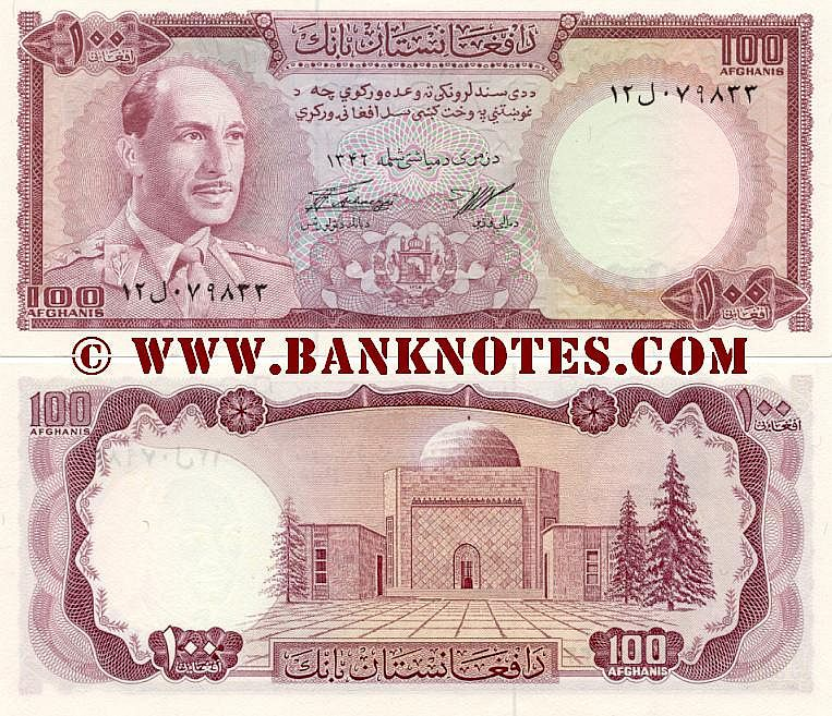 Afghanistan Currency Gallery