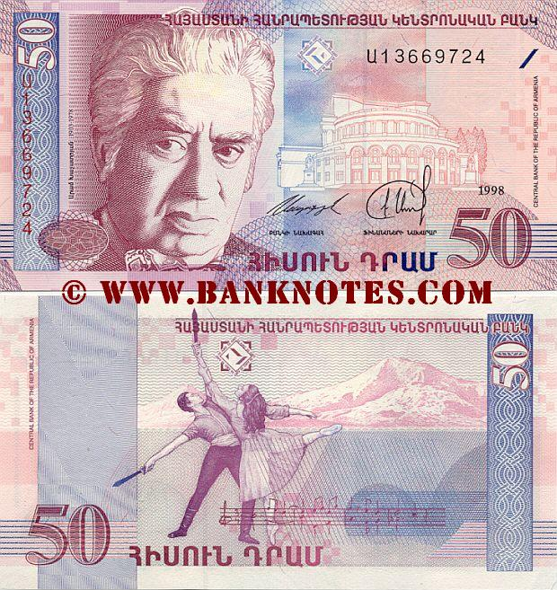 Armenian Currency Gallery