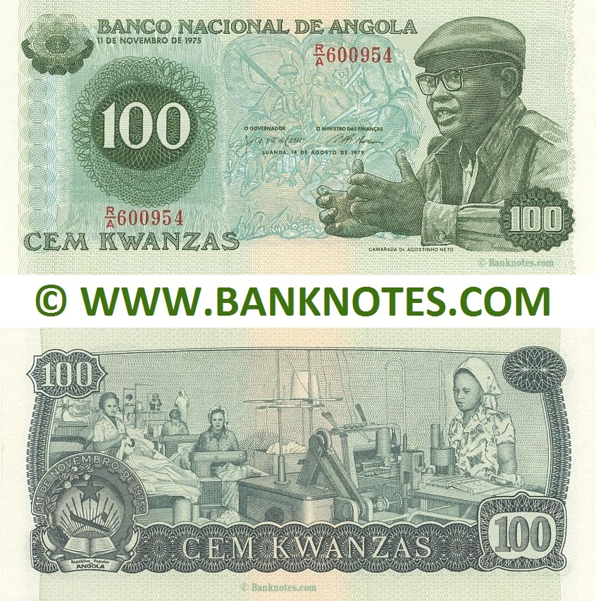 Angolan Currency Gallery