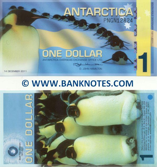 Antarctican Currency Gallery