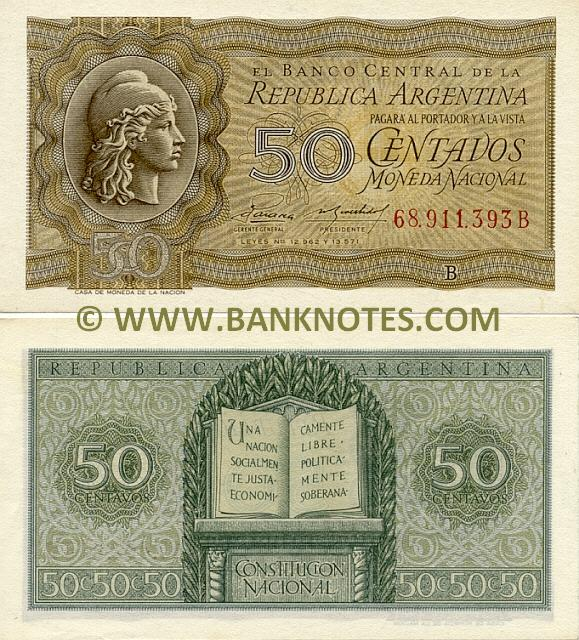 Argentina Currency Bank Note Gallery
