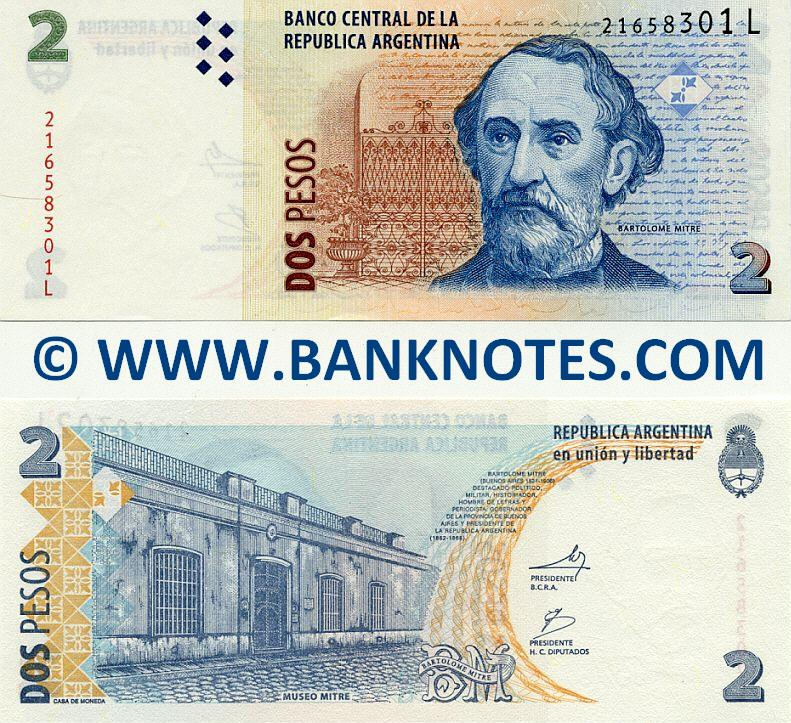 Argentinian Currency Bank Note Gallery