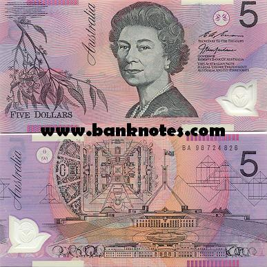 Australian Currency Banknote Gallery