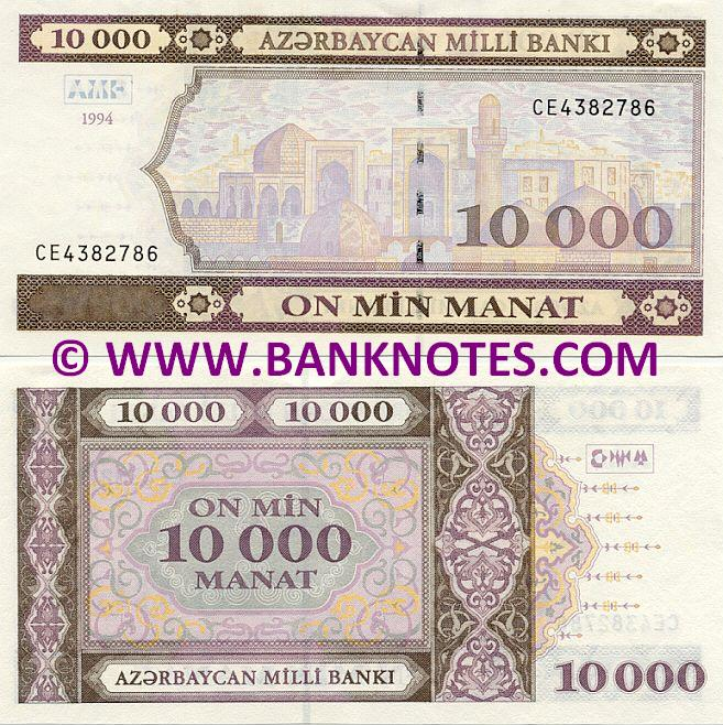 Azerbaijan Currency Gallery