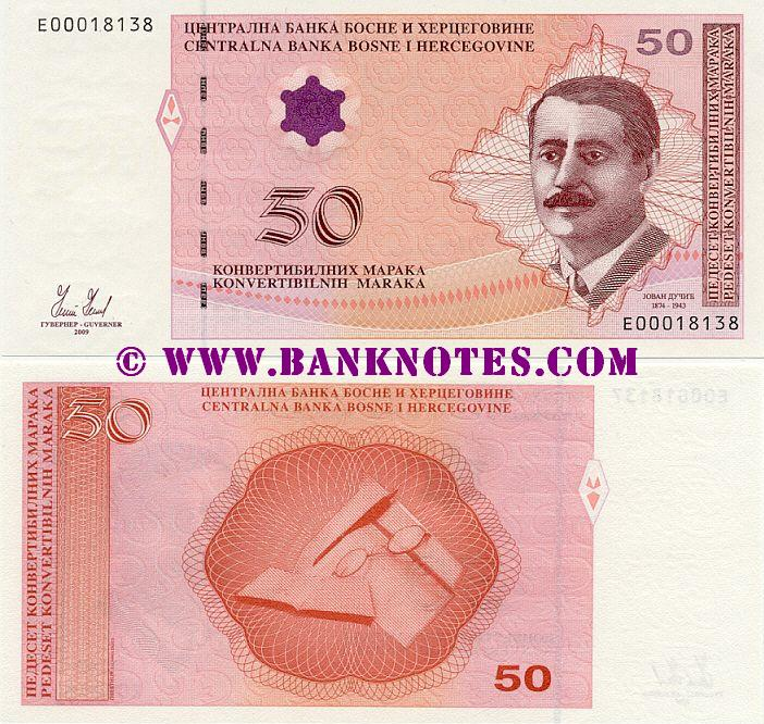 Bosnia and Herzegovina Currency Banknote Gallery