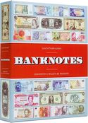 Album for 300 banknotes, with 100 bound sheets