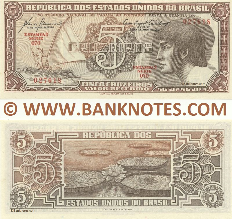 Brazilian Currency & Bank Note Gallery