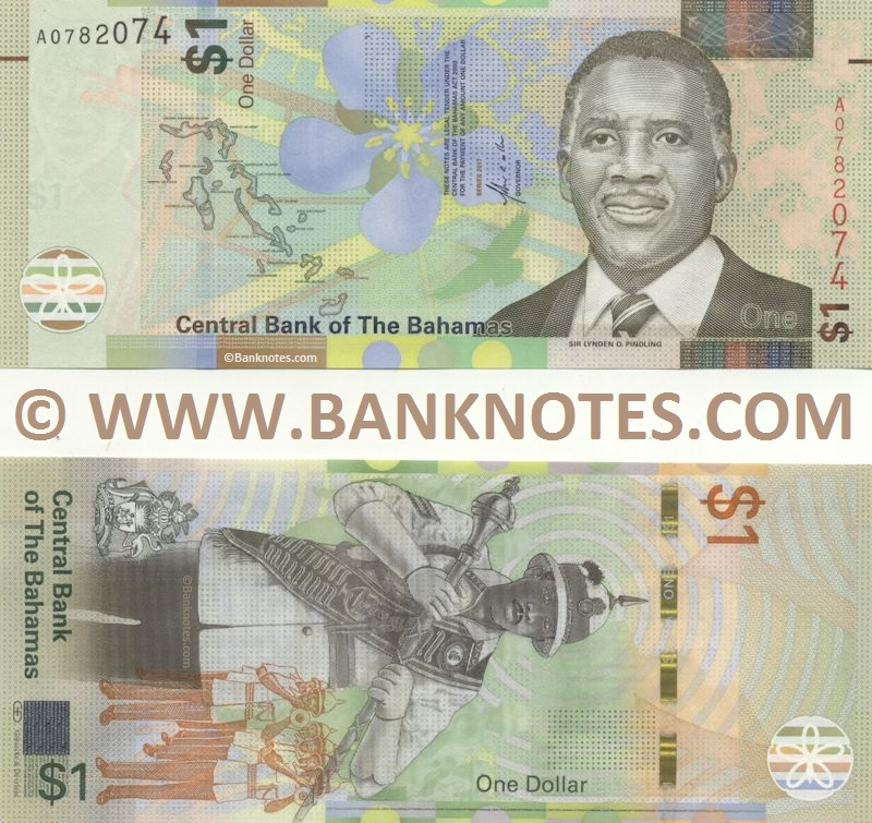 Bahamian Currency Banknote Gallery