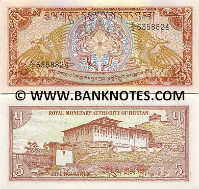 Bhutanese Currency Gallery