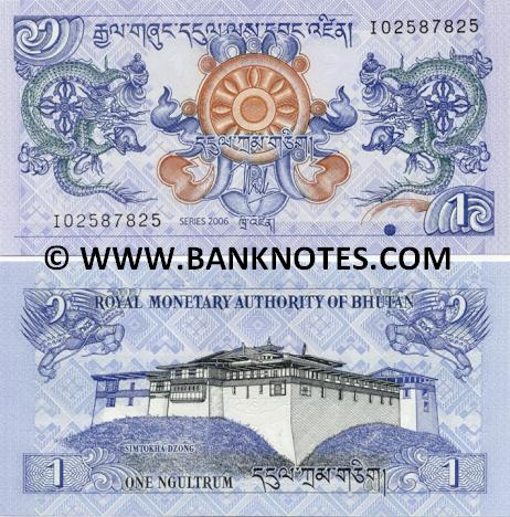Bhutanese Currency & Bank Note Gallery