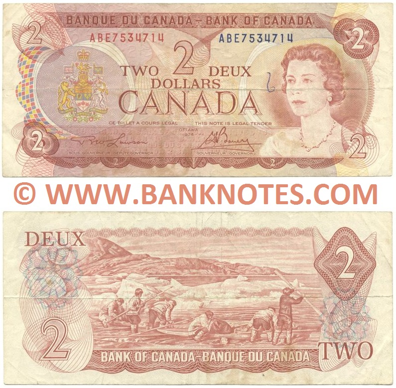 Canadian Currency Banknote Gallery