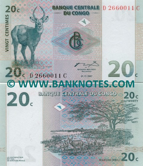 DR Congo Currency Gallery