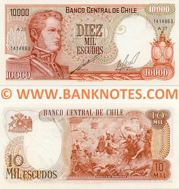 Chilean Currency & Bank Note Gallery
