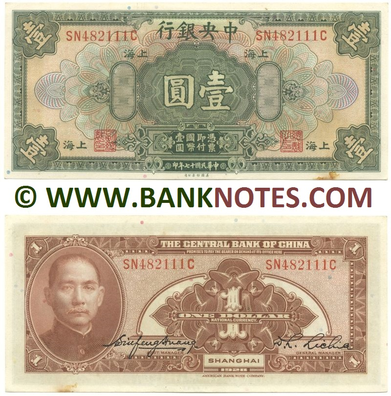Currency Banknote Gallery of China