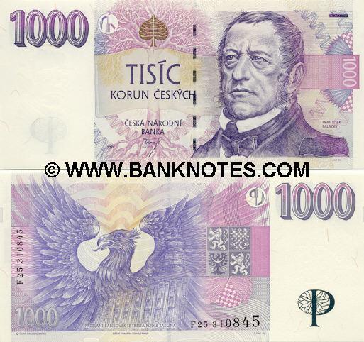 Czech Currency Gallery
