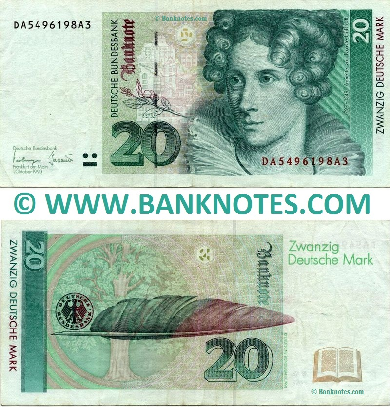 German Currency Banknote Gallery