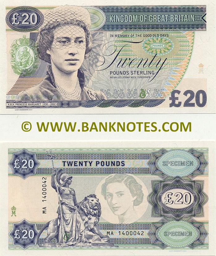 British Currency Banknote Gallery