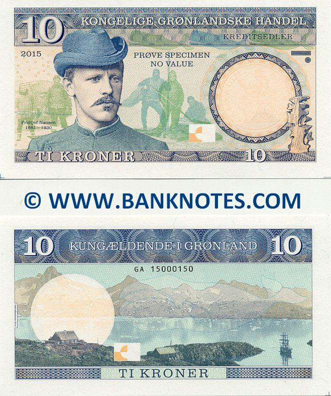 Grenlandic Currency Banknote Gallery
