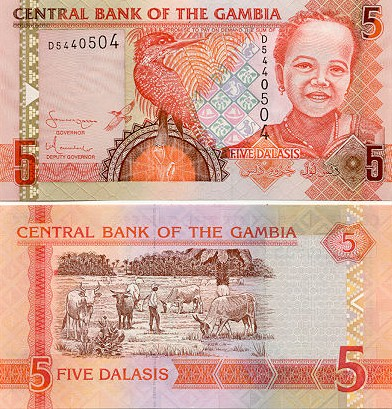 Gambia Currency Gallery