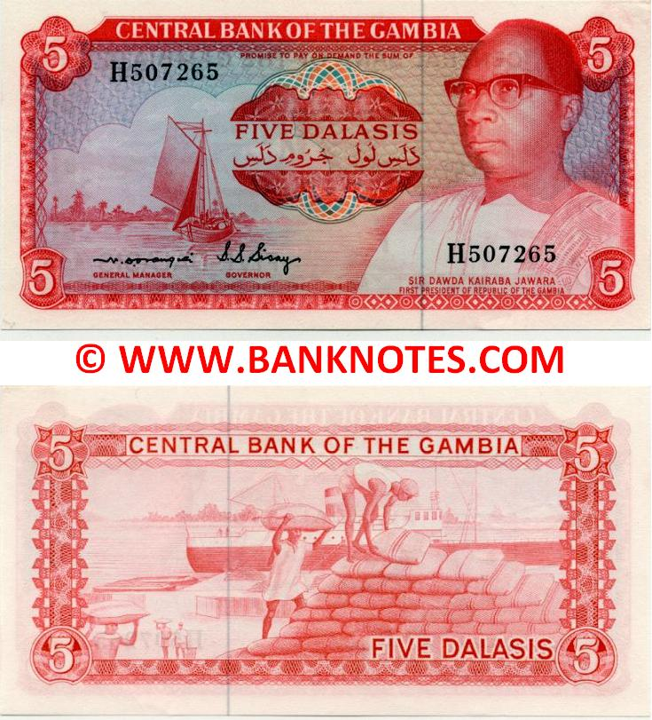 Gambian Currency Gallery