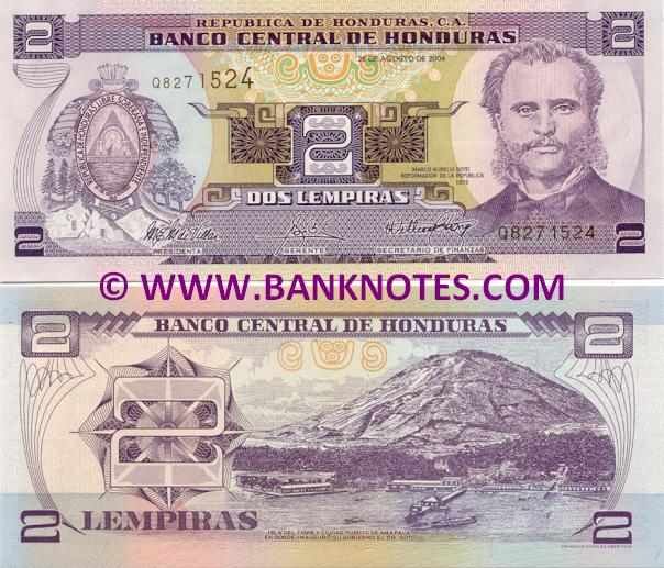 Honduras Currency Gallery