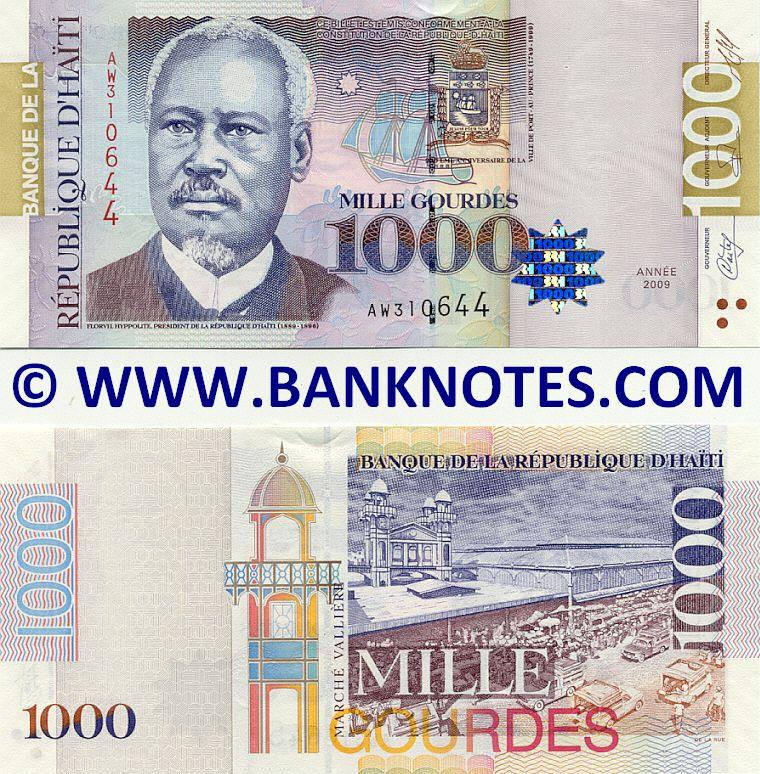 Haitian Currency Gallery