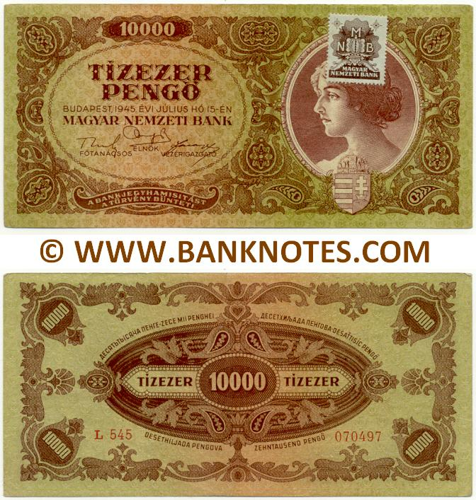 Hungarian Currency Gallery
