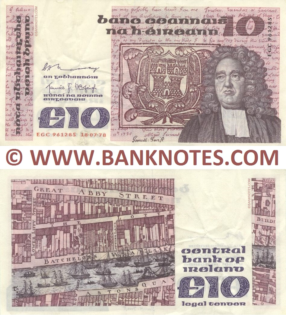Republic of Ireland Banknote Gallery