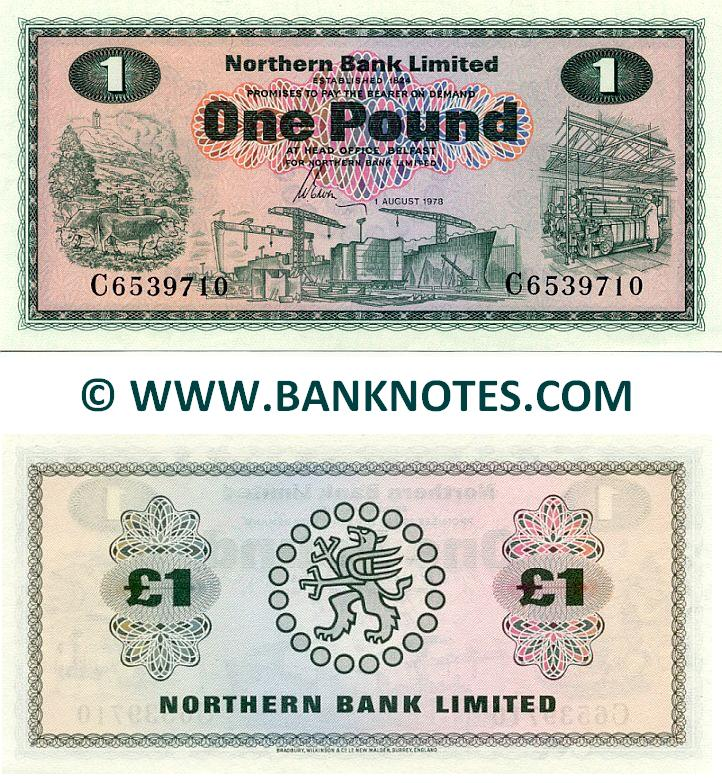 Northern Ireland Currency Banknote Gallery