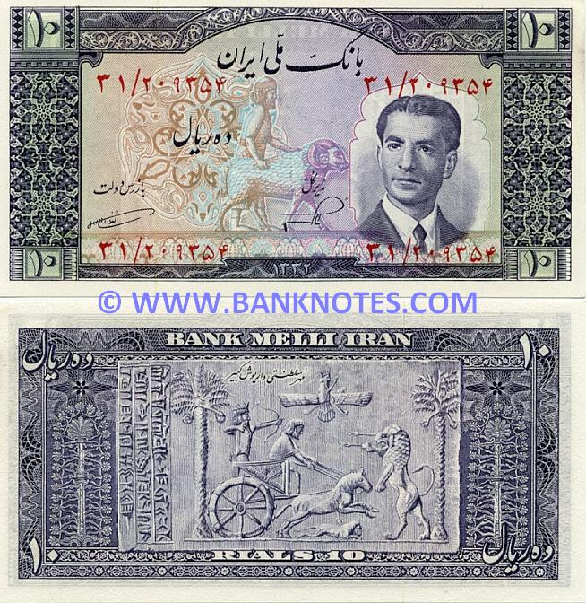 Iranian Currency Gallery