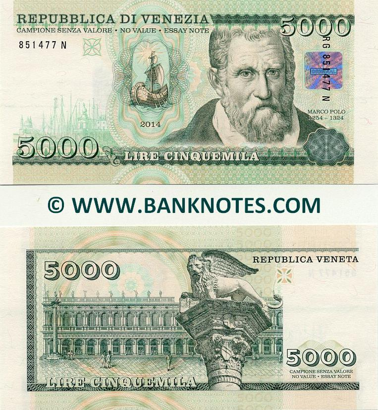 Italian Currency Banknote Gallery