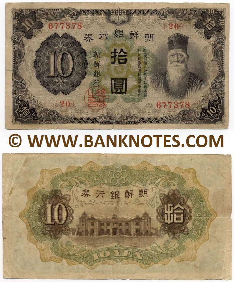 Korea Currency Banknote Gallery