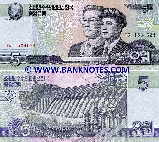North Korean Currency Gallery