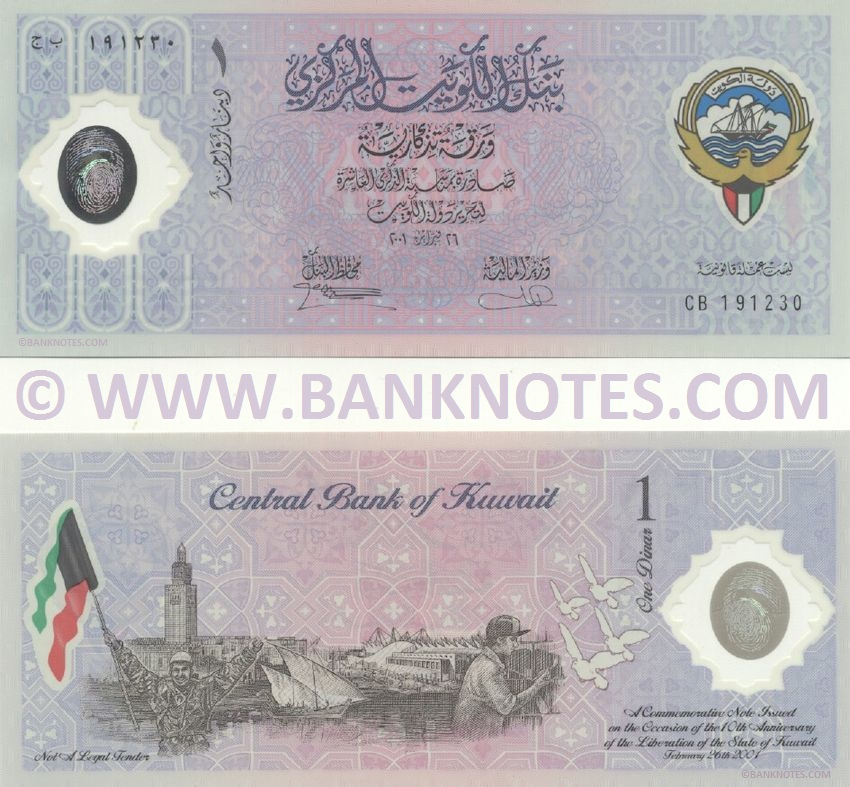 Kuwaiti Currency Gallery
